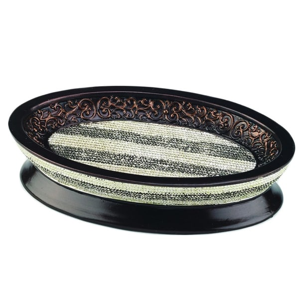 Cordonette Multi-colored Resin Soap Dish