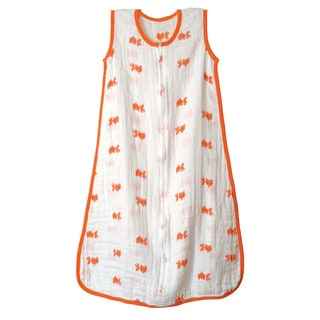 Aden + Anais Classic Muslin Sleeping Bag Mod About Baby Fish Medium