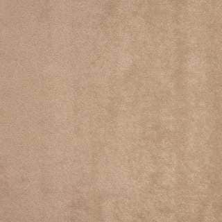B338 Solid Beige Stain Resistant Microfiber Upholstery Fabric by the Yard