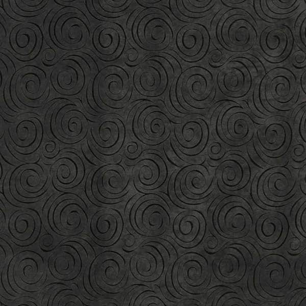 B301 Grey Abstract Swirl Microfiber Upholstery Fabric by the Yard