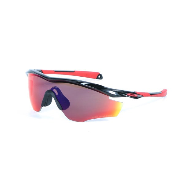 Oakley Polished Black M2 Sunglasses OO Red Iridium Polarized Lenses