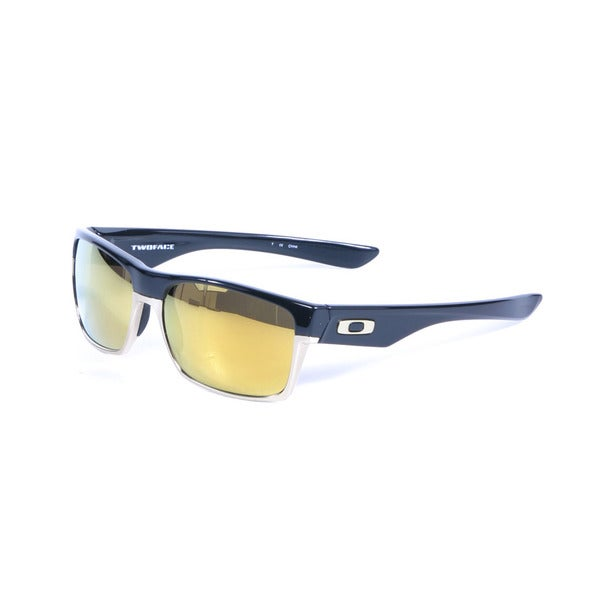Oakley Polished Black Twoface with 24k Iridium Polarized Lenses