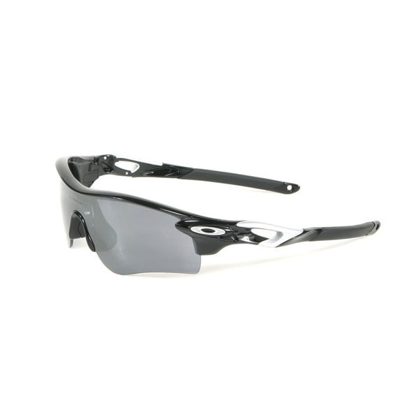Oakley Polished Black Radarlock Path Sunglasses with Black Iridium Lenses