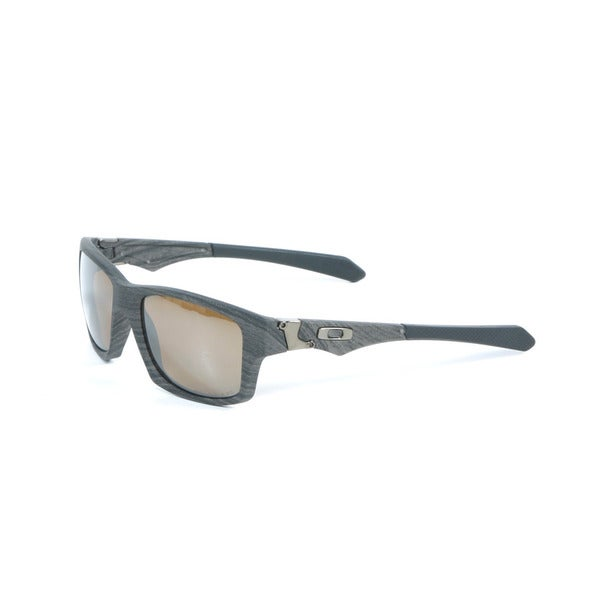 Oakley Jupiter SQ Woodgrain Sunglasses with Tungsten Iridium Polarized Lenses