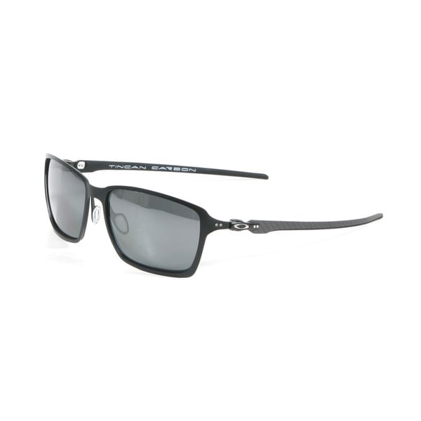 Oakley Satin Black Tincan Carbon with Black Iridium Polarized Lenses