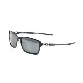 Oakley Satin Black Tincan Carbon with Black Iridium Polarized Lenses