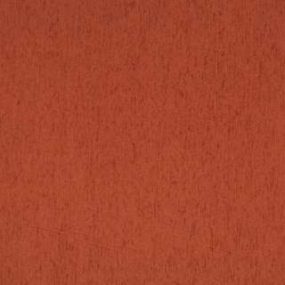 A866 Dark Orange Solid Chenille Upholstery Fabric by the Yard