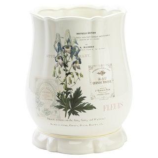 Alana Multi-colored Ceramic Wastebasket