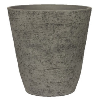 Stone Light Antique AT Series Cast Stone Antique Grey 20-inch Planter