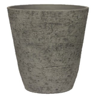 Stone Light Antique AT Series Cast Stone Antique Grey Planter