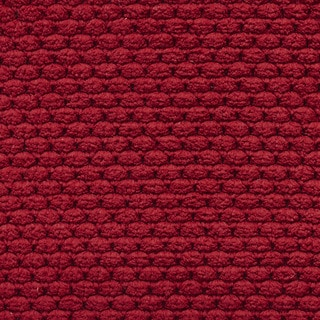 Red Soft Plush Woven Upholstery Chenille Velvet Upholstery Fabric by the Yard