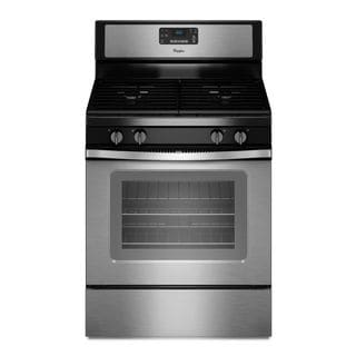 Whirlpool 5-cubic Feet Freestanding Gas Range with Accubake Temperature Management System