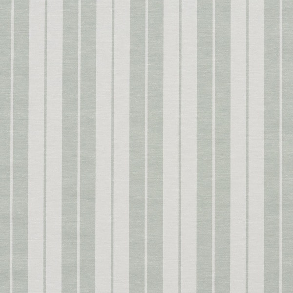 Honey Dew and White Ticking Stripes Heavy Duty Upholstery Fabric by the Yard