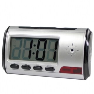 4GB DVR Surveillance Digital Alarm Clock with Motion Detector