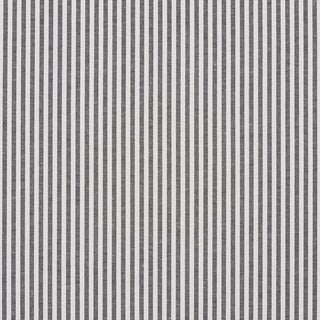 Black and White Ticking Stripes Cotton Heavy Duty Upholstery Fabric by the Yard