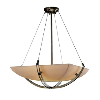 Justice Design Group Porcelina-Crossbar 6-light Pendant