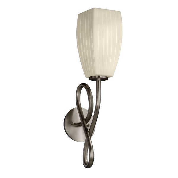 Justice Design Group Fusion-Capellini Short Tapered Wall Sconce