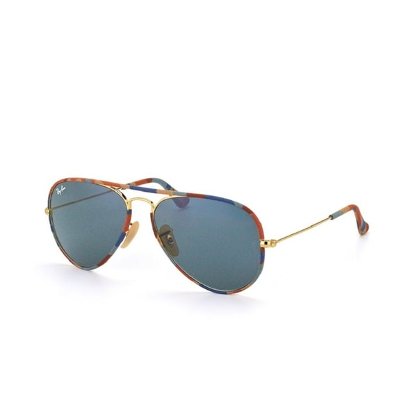 Ray-Ban Aviator Camouflage Grey Classic Unisex Sunglasses RB3025JM