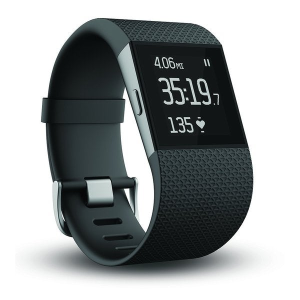 Fitbit Surge Wireless Fitness Superwatch w/ Heart Rate - Black
