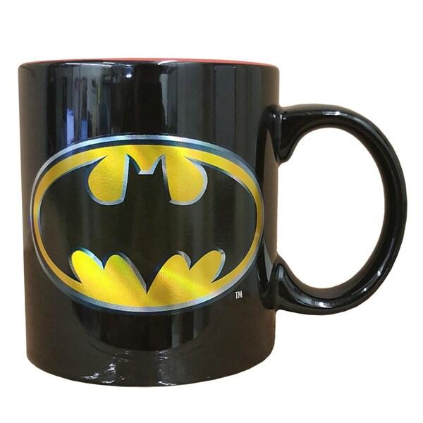 Batman Iridescent Insignia 15-ounce Coffee Mug