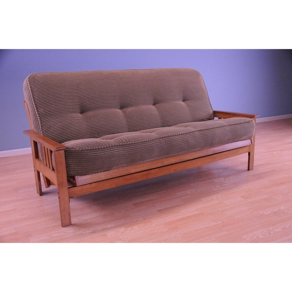 Somette Monterey Honey Oak Futon Set