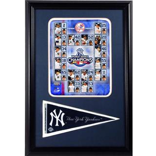 New York Yankees Champions 12-inch x 18-inch Pennant Frame