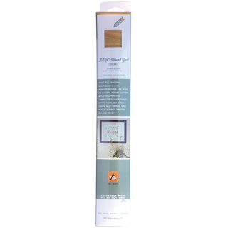 BARC Wood Roll W/Adhesive Backing 12inX24in Cherry