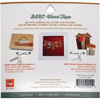 BARC Wood Adhesive Tape 1inX15' White Birch