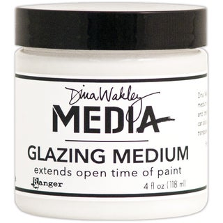 Dina Wakley Media Glazing Medium 4oz Jar