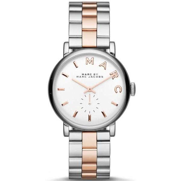 Marc Jacobs Women's MBM3312 'Baker' Two-Tone Stainless Steel Watch