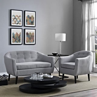 Wit 2-piece Upholstered Living Room Set