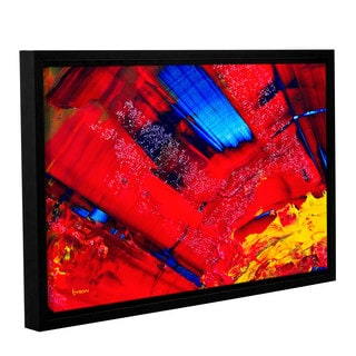 ArtWall Byron May 'Passionate Explosion' Gallery-wrapped Floater-framed Canvas