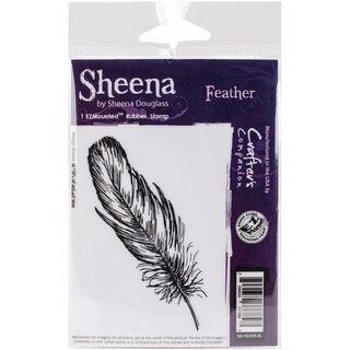 Sheena Douglass Cling Stamp Feather