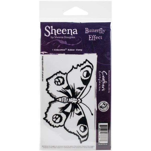 Sheena Douglass Cling Stamp Butterfly Effect