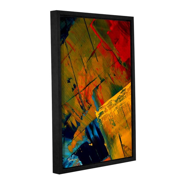 ArtWall Byron May 'Life Adventures' Gallery-wrapped Floater-framed Canvas