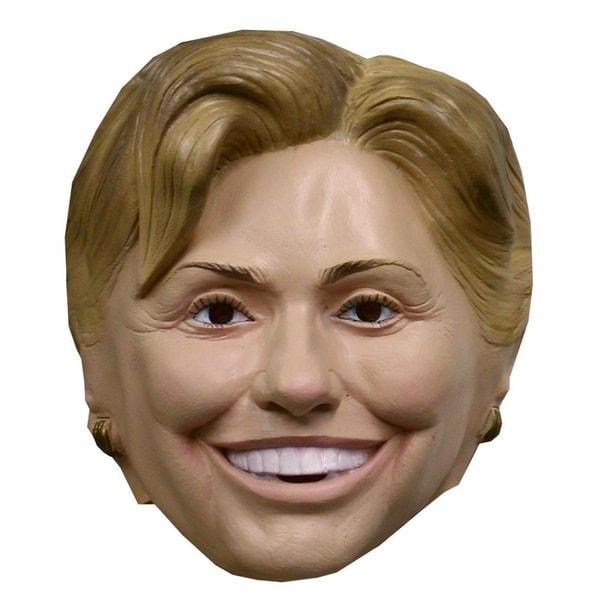 Hillary Clinton Vinyl Mask