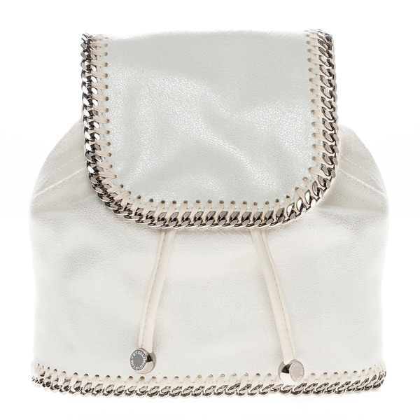Stella McCartney Mini Falabella Backpack White
