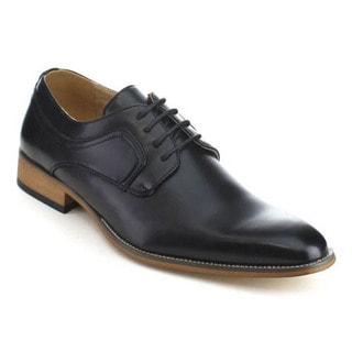UV Signature UV001 Men's Almond Toe Lace Up Delicate Dress Oxford Shoes