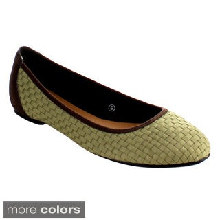 C Label Cosy-5 Women's Slip On Light Weight Loafer Ballet Flats