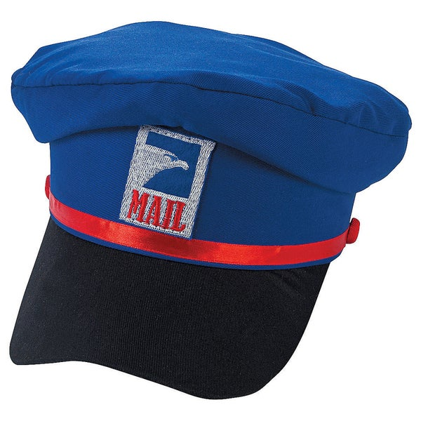 Mail Carrier Hat Costume Accessory