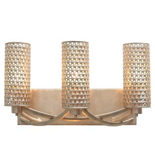Varaluz Casablanca 3-light Bath Fixture, Zen Gold