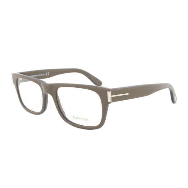 Tom Ford FT5274 090 Brown Rectangular Eyeglass Frames - Size 54