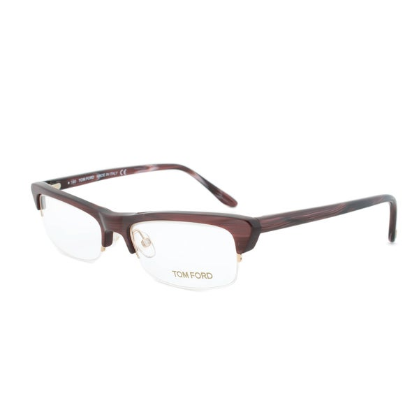 Eyeglass Frame Size 52 : Tom Ford FT5133 050 Woodgrain Brown Eyeglass Frames - Size ...