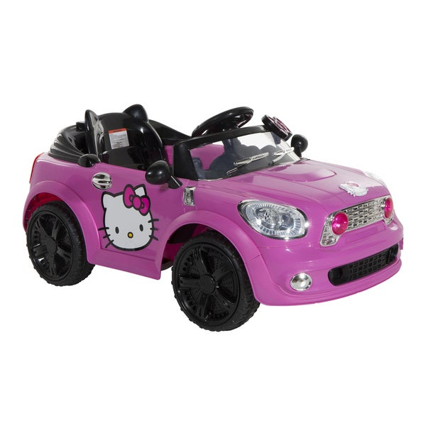 Hello Kitty 6V Coupe Ride-on