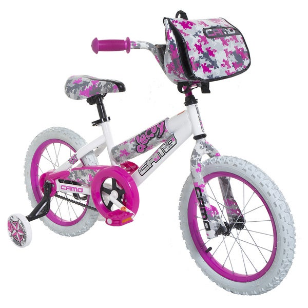 16-inch Girls Camo Decoy Bike