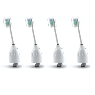 Philips Sonicare Toothbrush e Series Generic Replacement Heads (Pack of 4)