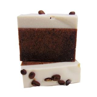 4-ounce Coffee and Cream Yogurt Natural Handmade Soap