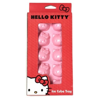 Hello Kitty Pink Ice Cube Tray Freezer