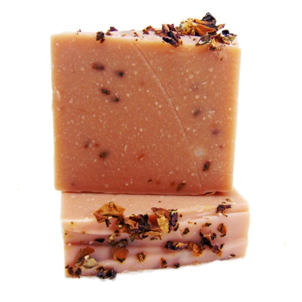 Lavender Rose Yogurt 4-ounce Natural Handmade Soap Bar