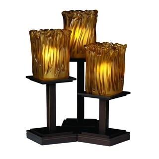 Justice Design Group Veneto Luce-Montana 3-light Portable, Bronze